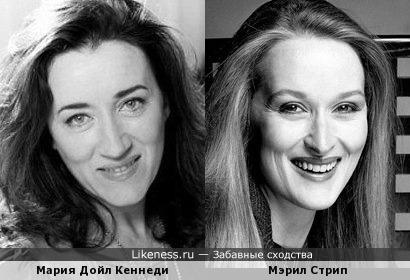 Мария Дойл Кеннеди/Мэрил Стрип