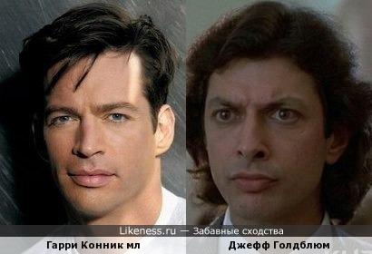 Гарри Конник мл и Джефф Голдблюм