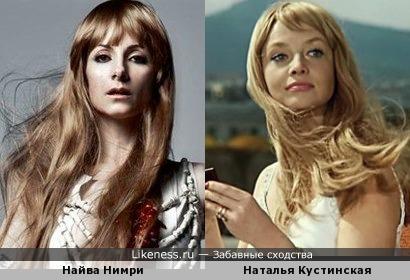 Просто ассоциация с париками )