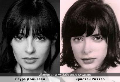 Лаура Доннелли /Кристен Риттер