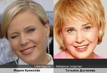 Мария Куликова напомнила Догилеву