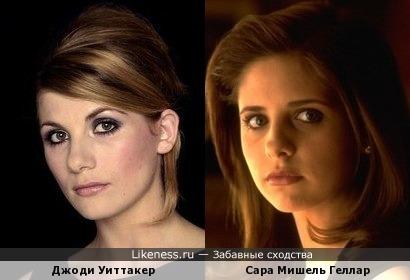 """Джоди Уиттакер похожа на Кэтрин Мёртей из """"Жестоких игр"""""""