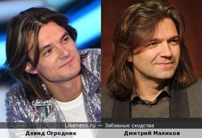 Давид Огродник и Дмитрий Маликов