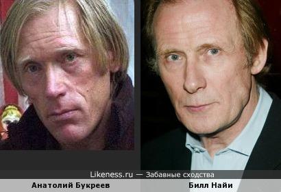 Анатолий Букреев и Билл Найи