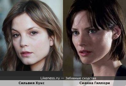 Сильвия Хукс и Сиенна Гиллори