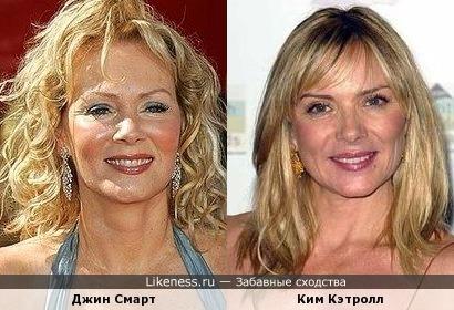 Джин Смарт и Ким Кэтролл