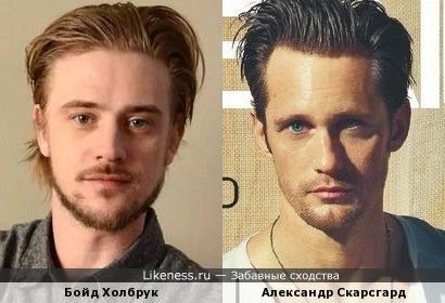 Бойд Холбрук и Александр Скарсгард
