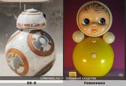 BB-8 и Неваляшка