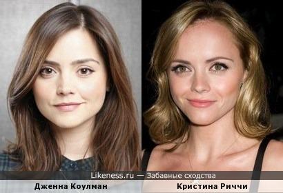 Дженна Коулман и Кристина Риччи