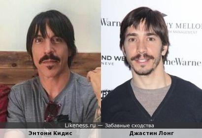Энтони Кидис и Джастин Лонг