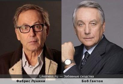 Фабрис Лукини и Боб Гантон