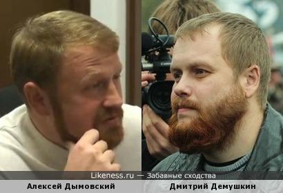 Дымовский и Демушкин - братья-близнецы?