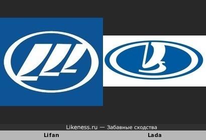 Lifan похож на Lada