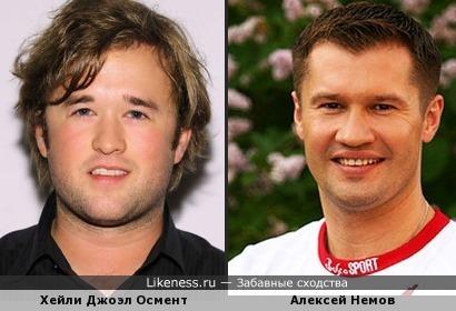 Набравший в весе Хейли Джоэл Осмент похож на Алексея Немова