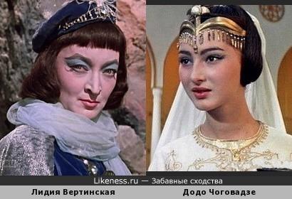 В детстве казалось, что это одна актриса в разных возрастах.