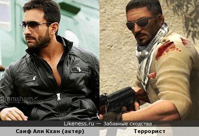Саиф Али Кхан может играть террористов