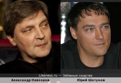 Шатунов похож на Невзорова