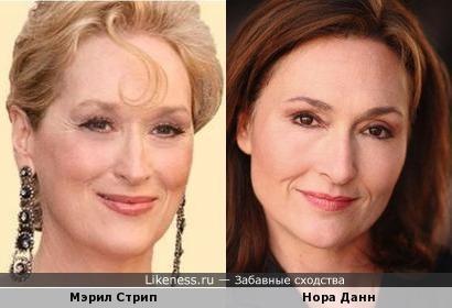 Мэрил Стрип и Нора Данн