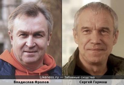 Владислав Фролов и Сергей Гармаш похожи
