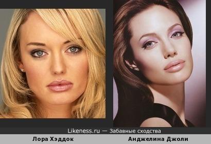Хэддок похожа на Джоли