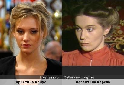 Асмус похожа на Кареву (Следствие ведут знатоки-1985)