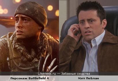 Мэтт ЛеБлан в Battlefield 4