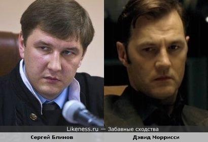 """Судья Блинов похож на Губернатора из сериала """"Ходячие мертвецы"""""""