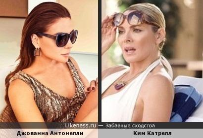 Джованна Антонелли здесь похожа на Ким Катрелл