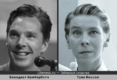Бенедикт Камбербэтч похож на Туве Янссон