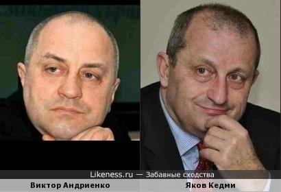 Виктор Андриенко и Яков Кедми