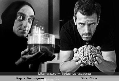 Молодой Франкенштейн и доктор Хаус...