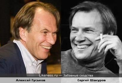 Алексей Гуськов и Сергей Шакуров