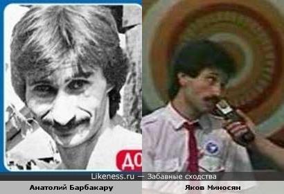 Писатель, бывший шулер Анатолий Барбакару и экс-капитан КВН ДГУ Яков Миносян