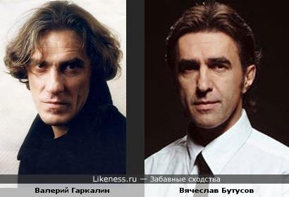 И снова Валерий Гаркалин и Вячеслав Бутусов