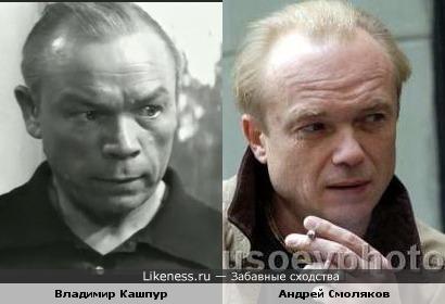 Владимир Кашпур и Андрей Смоляков