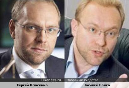 Украинские политики Сергей Власенко и Василий Волга