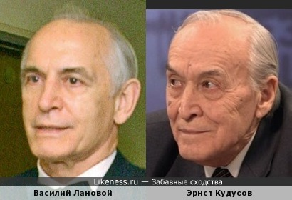 Василий Лановой и глава крымских татар