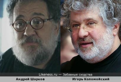 Андрей Шарков и Игорь Коломойский