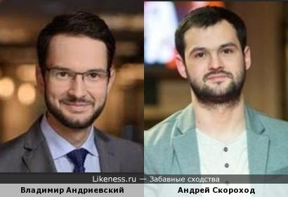 Владимир Андриевский и Андрей Скороход