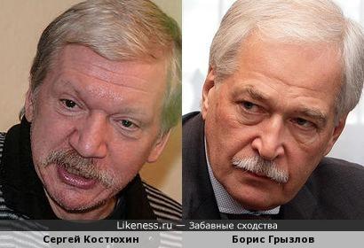Борис Грызлов и Сергей Костюхин