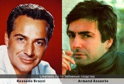 Rossano Brazzi похож на Armand Assante