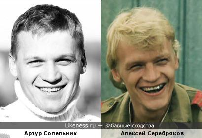 Артур Сопельник похож Алексей Серебряков