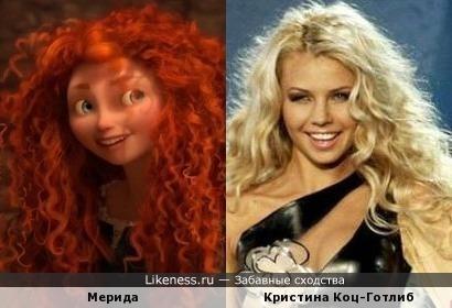 Мерида похож на Кристина Коц-Готлиб
