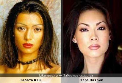 Табата Кэш похож на Тера Патрик