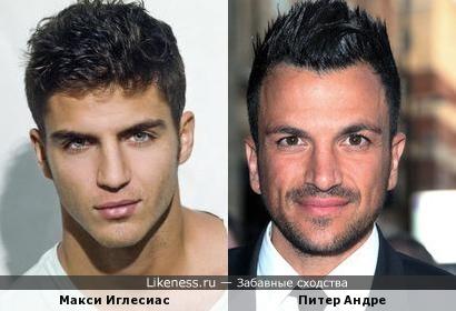 Макси Иглесиас похож на Питер Андре