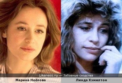 """Марина Неёлова похожа на Линду Хэмилтон (""""Терминатор"""")"""