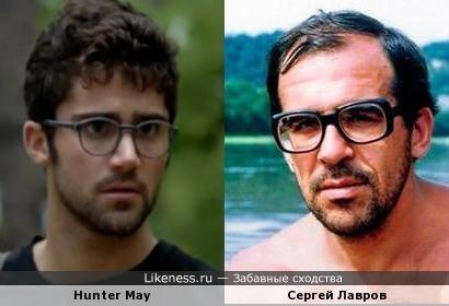 Хантер Мэй похож на Сергея Лаврова