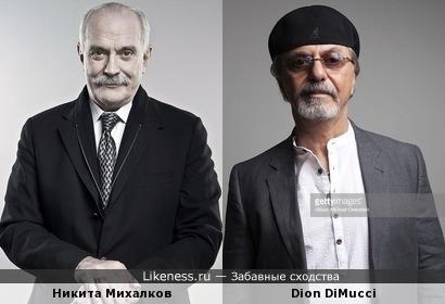 Михалков похож на певца из США