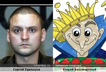 Сергей Удальцов похож на Кощея Бессмертного