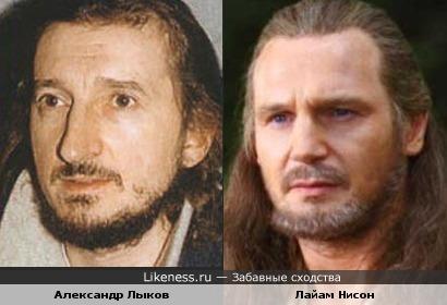 Александр Лыков похож на Лайама Нисона
